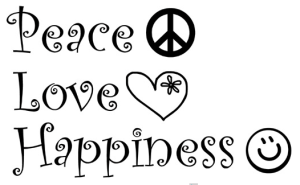 PeaceLoveHappiness