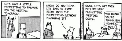 Cartoon-meeting